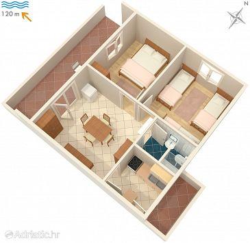 Apartment A-2083-a - Apartments Okrug Gornji (Čiovo) - 2083