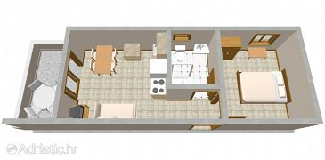 Apartment A-2094-b - Apartments Zatoglav (Rogoznica) - 2094