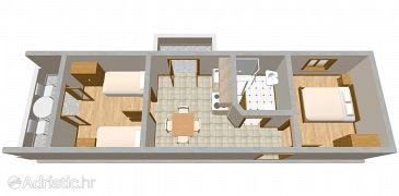 Apartment A-2100-a - Apartments Ražanj (Rogoznica) - 2100