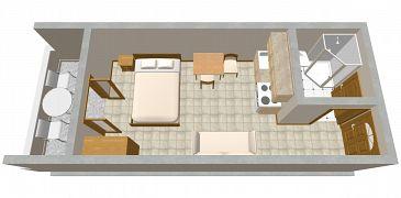 Studio AS-2100-a - Apartamenty Ražanj (Rogoznica) - 2100