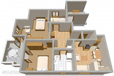 Apartment A-2127-a - Apartments Dubrovnik (Dubrovnik) - 2127