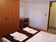 Cavtat, Bedroom 1 u smještaju tipa apartment, dostupna klima i WIFI.