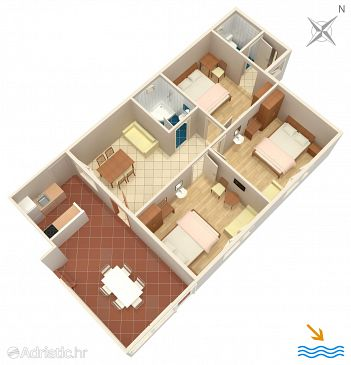 Apartment A-2136-a - Apartments Plat (Dubrovnik) - 2136