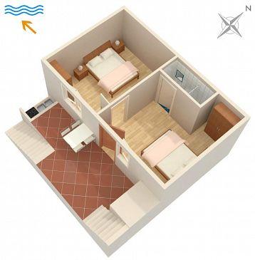 Apartament A-2137-a - Kwatery Molunat (Dubrovnik) - 2137