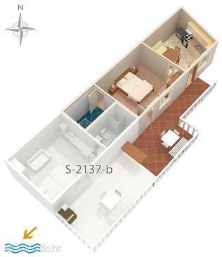 Apartment A-2137-c - Apartments and Rooms Molunat (Dubrovnik) - 2137