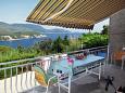 Terrace 1 - Apartment A-2141-a - Apartments Molunat (Dubrovnik) - 2141