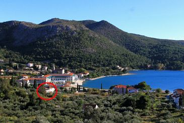 Property Slano (Dubrovnik) - Accommodation 2160 - Apartments near sea with sandy beach.