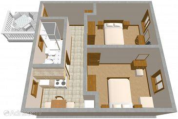 Apartment A-2175-a - Apartments Suđurađ (Elafiti - Šipan) - 2175