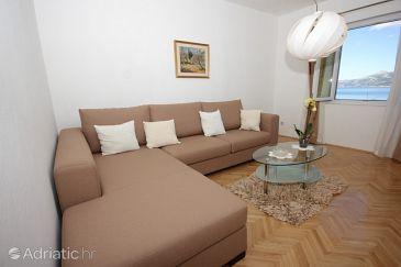 Koločep, Living room u smještaju tipa apartment, dopusteni kucni ljubimci i WIFI.