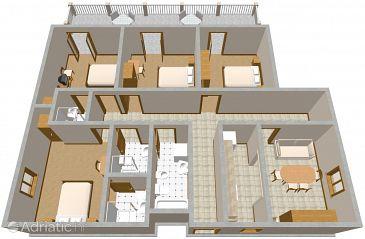 Apartment A-2184-a - Apartments Suđurađ (Elafiti - Šipan) - 2184