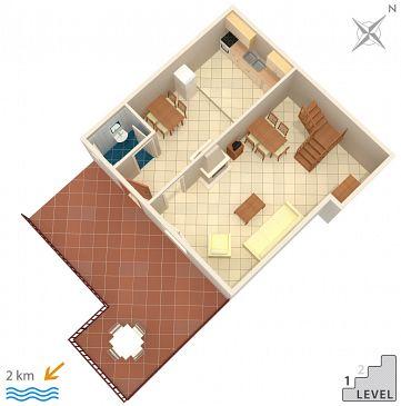 House K-2185 - Vacation Rentals Podaca (Makarska) - 2185