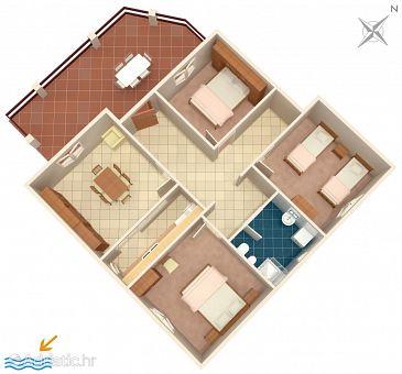 Apartment A-219-a - Apartments Prižba (Korčula) - 219