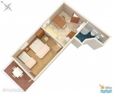 Apartment A-2194-c - Apartments Uvala Ljubljeva (Trogir) - 2194
