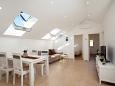 Tri luke, Living room 1 u smještaju tipa house, dostupna klima i WIFI.