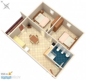 Apartment A-2201-b - Apartments Valbandon (Fažana) - 2201