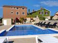 Property Valbandon (Fažana) - Accommodation 2201 - Apartments with pebble beach.