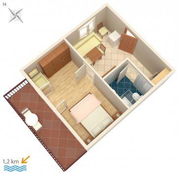 Apartament A-2217-b - Apartamenty Poreč (Poreč) - 2217