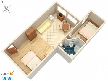 Apartament A-2243-f - Apartamenty Rovinj (Rovinj) - 2243