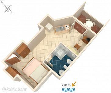 Studio flat AS-2243-b - Apartments Rovinj (Rovinj) - 2243