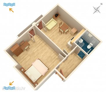 Apartment A-2257-b - Apartments and Rooms Banjole (Pula) - 2257