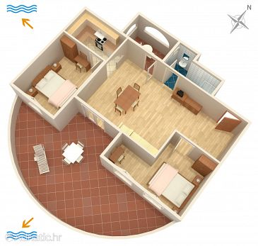 Apartment A-2257-e - Apartments and Rooms Banjole (Pula) - 2257