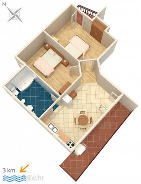 Apartment A-2273-a - Apartments Rovinj (Rovinj) - 2273