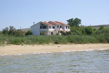 apartmány přímo u moře Pag