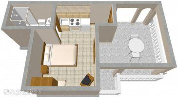 Studio flat AS-2316-a - Apartments Ičići (Opatija) - 2316