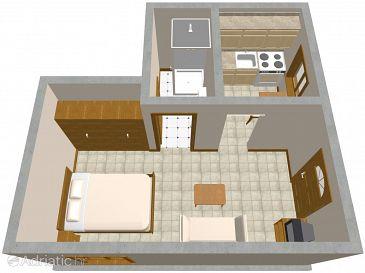 Studio flat AS-2316-b - Apartments Ičići (Opatija) - 2316