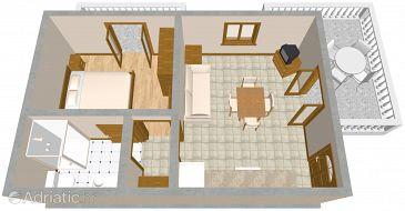 Apartment A-2335-c - Apartments Duga Luka (Prtlog) (Labin) - 2335