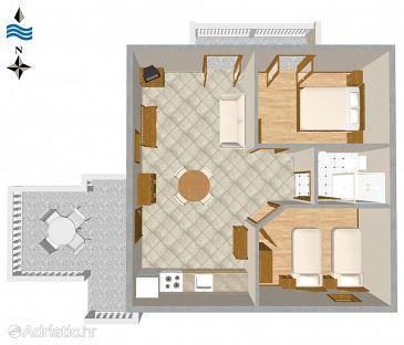 Apartment A-2347-b - Apartments Novi Vinodolski (Novi Vinodolski) - 2347