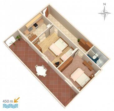 Apartment A-2348-b - Apartments Novi Vinodolski (Novi Vinodolski) - 2348