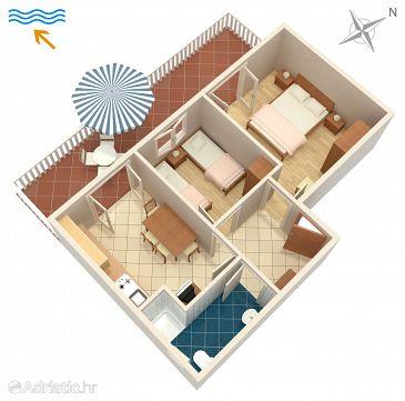 Apartment A-235-c - Apartments Stara Novalja (Pag) - 235