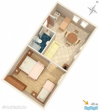 Apartment A-2351-a - Apartments Lovran (Opatija) - 2351