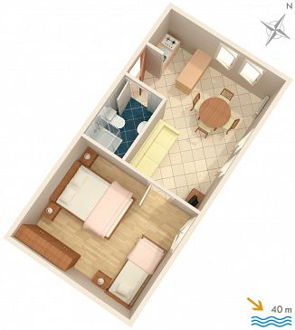 Apartament A-2351-a - Apartamenty Lovran (Opatija) - 2351