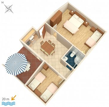 Apartment A-2354-e - Apartments Crikvenica (Crikvenica) - 2354