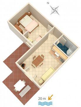Apartment A-2354-f - Apartments Crikvenica (Crikvenica) - 2354