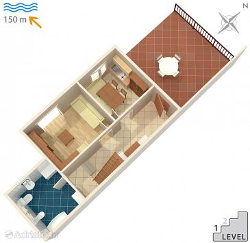 Apartment A-2358-c - Apartments Duga Luka (Prtlog) (Labin) - 2358