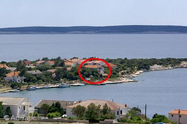 Property Šimuni (Pag) - Accommodation 236 - Apartments near sea with pebble beach.