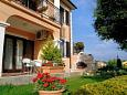 Courtyard Presika (Labin) - Accommodation 2370 - Apartments with pebble beach.