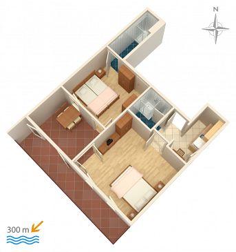 Apartament A-2378-a - Apartamenty Dramalj (Crikvenica) - 2378