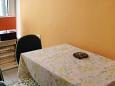 Novi Vinodolski, Dining room u smještaju tipa studio-apartment, WIFI.
