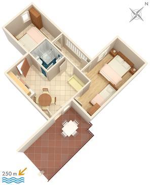 Apartament A-2383-a - Apartamenty Selce (Crikvenica) - 2383