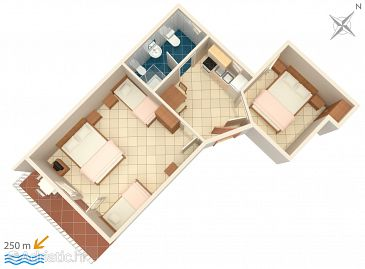 Apartment A-2383-b - Apartments Selce (Crikvenica) - 2383