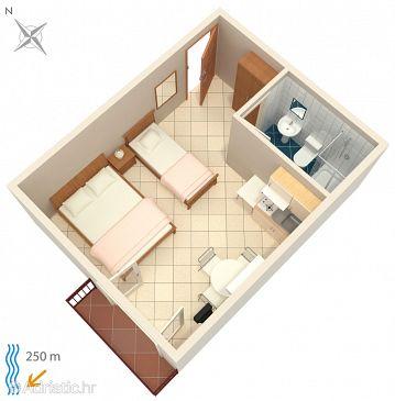 Studio flat AS-2389-b - Apartments and Rooms Crikvenica (Crikvenica) - 2389