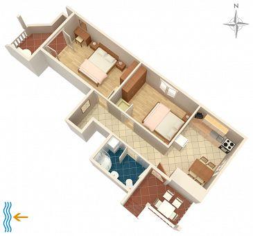 Apartment A-2392-a - Apartments Selce (Crikvenica) - 2392