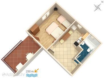 Apartment A-2397-a - Apartments Dramalj (Crikvenica) - 2397