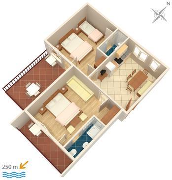 Apartament A-2397-b - Apartamenty Dramalj (Crikvenica) - 2397