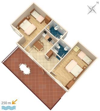 Apartament A-2397-c - Apartamenty Dramalj (Crikvenica) - 2397