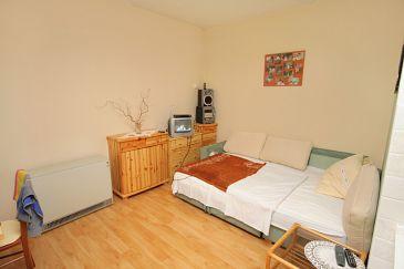 Selce, Living room u smještaju tipa apartment, dopusteni kucni ljubimci i WIFI.